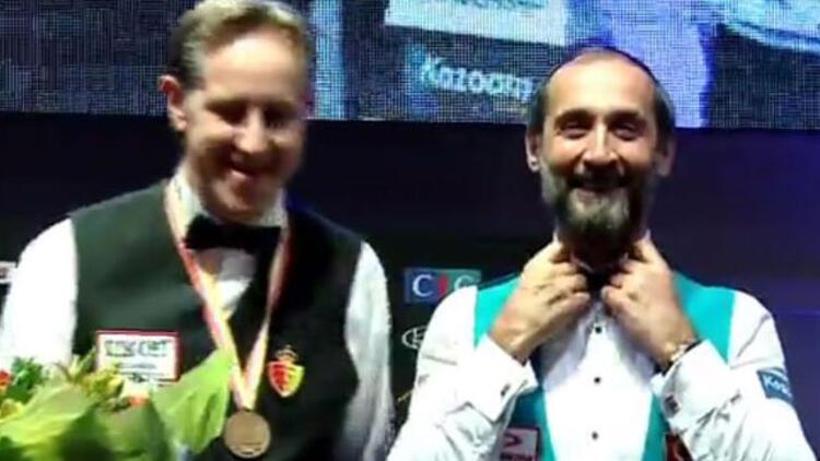 Semih Saygıner dünya üçüncüsü oldu