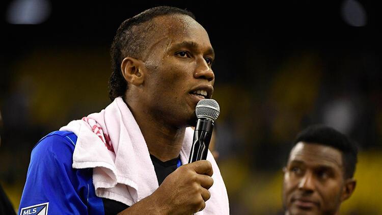 Didier Drogba resmen veda etti!