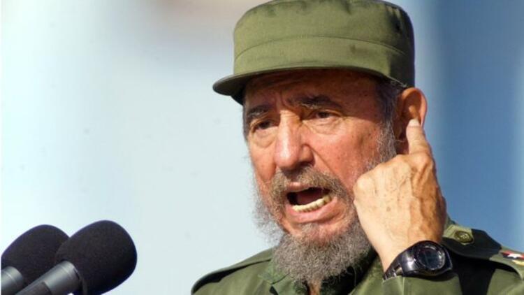 Fidel Castro: Sakalı, purosu ve haki üniformasıyla Batı'ya kafa tutan devrimci