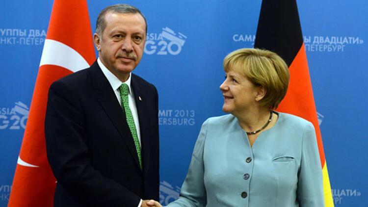 Erdoğan, Merkel ile görüştü - Dünyadan Haberler