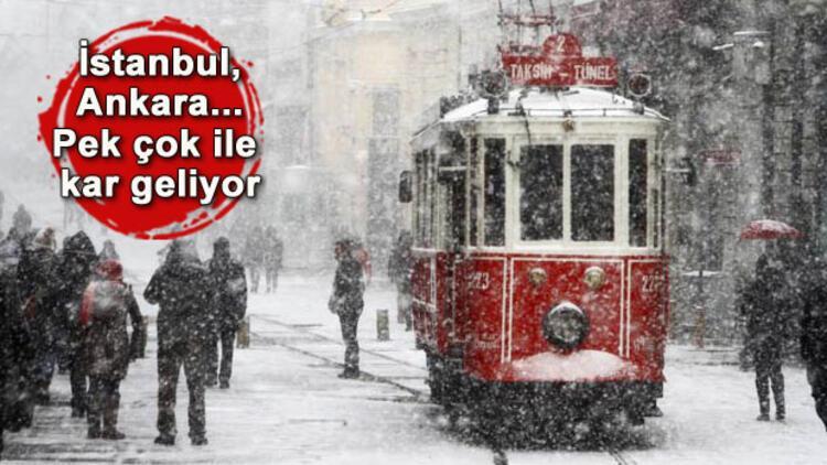 Son dakika haberi: İstanbulda kar ne zaman yağacak İşte o tarih