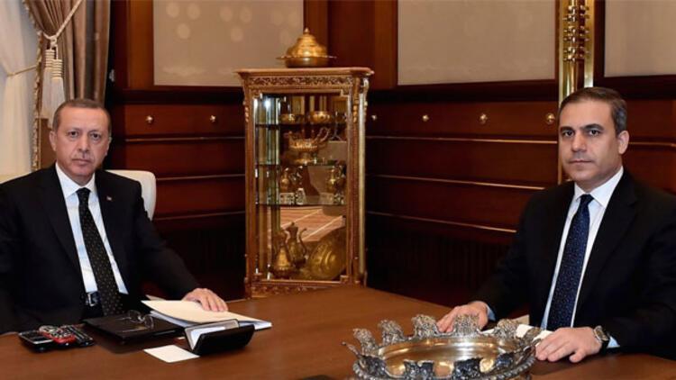 Cumhurbaşkanı Erdoğan, Fidan'la görüştü