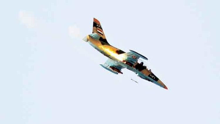 İran İHA'sı gösterdi, Suriye vurdu