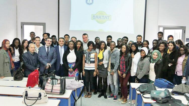 Mustafa Baklan, üniversite öğrencilerine seminer verdi