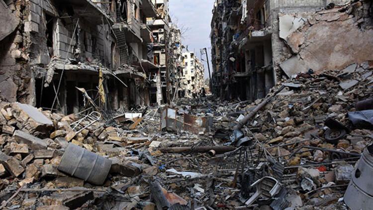 Halep'te bombalama durmadı