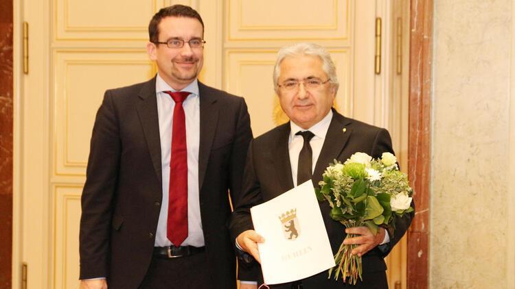 TUH Başkanı Yılmaz'a Berlin Nişanı verildi
