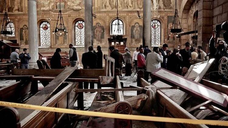 Kahire'deki kilise saldırısını DEAŞ üstlendi