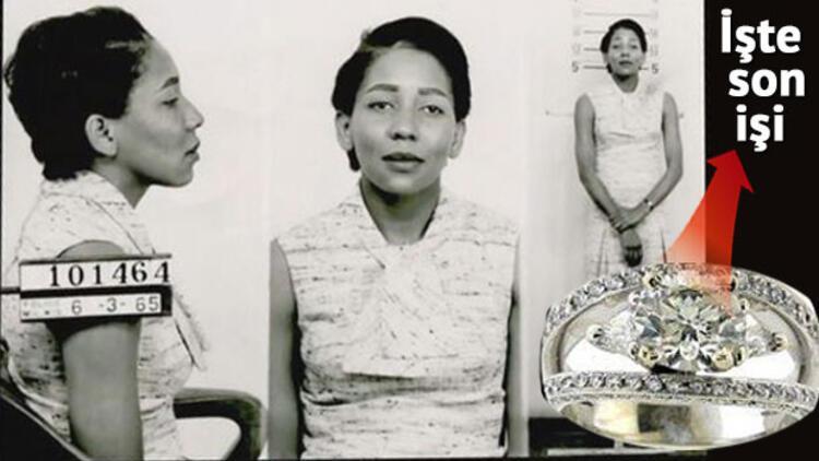 86 yaşındaki mücevher hırsızı Doris Payne yine yakalandı