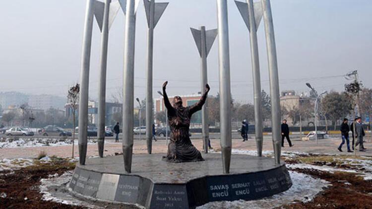 'Roboski Anıtı' kaldırıldı