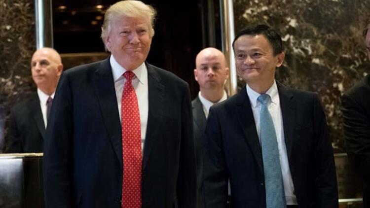 Donald Trump e-ticaret devi Alibaba'nın sahibiyle görüştü
