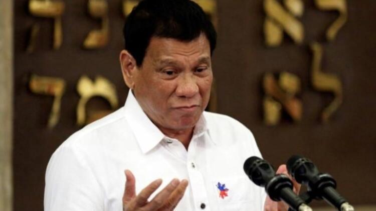 Duterte'den bir 'bomba' daha!