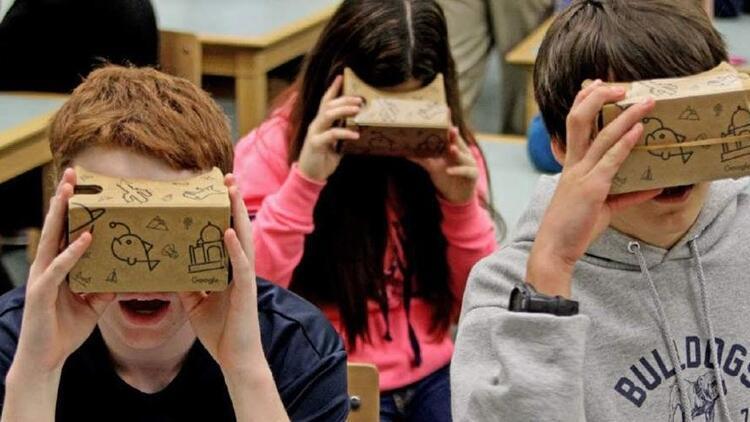 Çocuklar 'sanal gerçeklik' ile öğrenecek