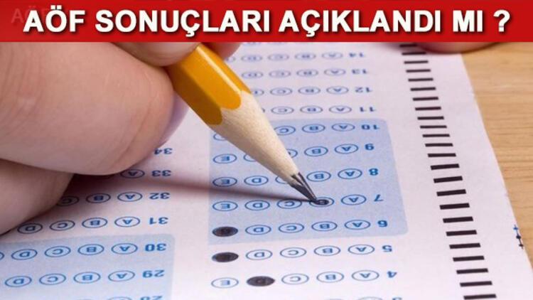 2017 AÖF final sınavı sonuçları ne zaman açıklanacak? Anadolu Üniversitesi Rektörü açıkladı