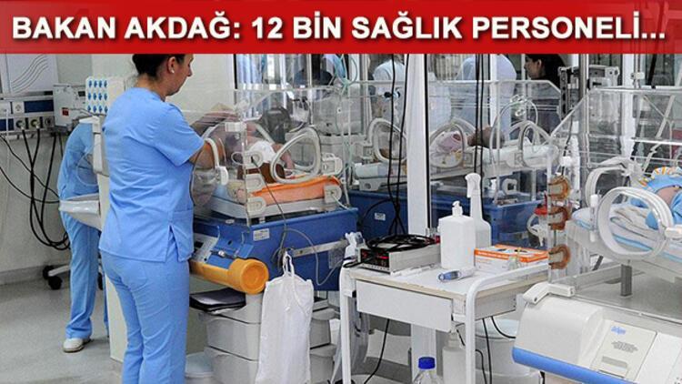 Sağlık Bakanlığı 12 bin personel alımı için düğmeye bastı