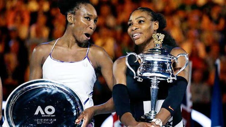 Avustralya'da şampiyon Serena Williams