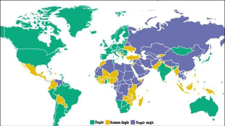 Freedom House: Türkiye özgürlüklerin en çok gerilediği ülke oldu