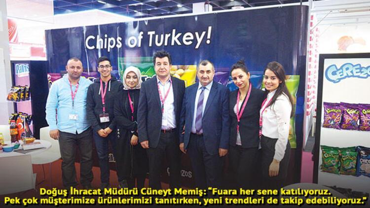 Köln Bisküvi ve Şekerleme Fuarı, Türk şirketlerini umutlandırdı