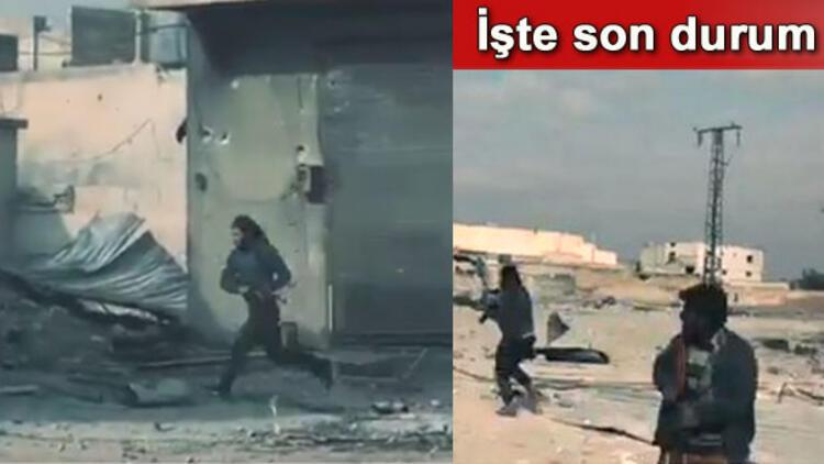 Son dakika: DEAŞ ile sokak çatışması kameralara böyle yansıdı