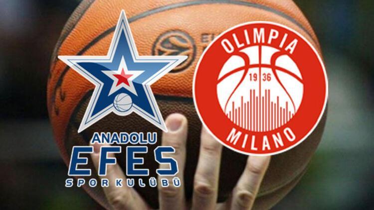 Anadolu Efes Olimpia Milano maçı ne zaman saat kaçta, hangi kanalda?