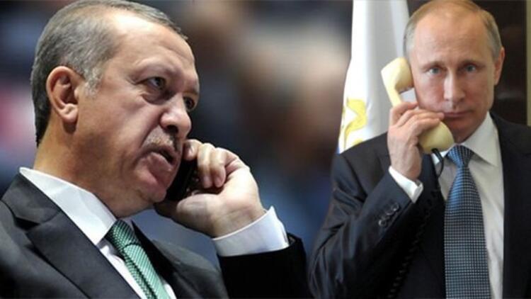 Putin'den Erdoğan'a taziye telefonu