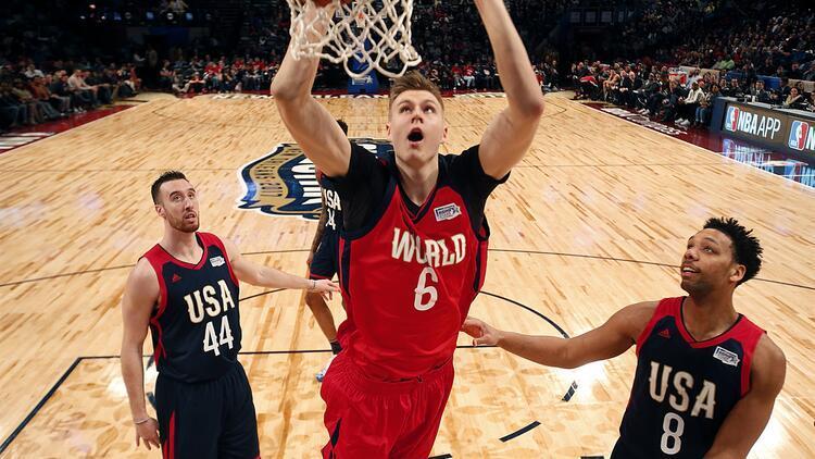 Dünya takımı, ABD'yi devirdi