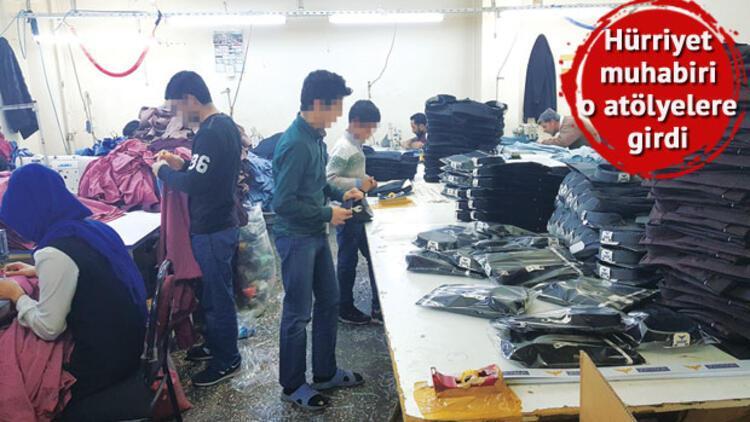 İşte çocuk işçiler!