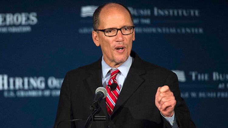Obama'nın Çalışma Bakanı Perez, Demokrat Parti başkanlığına seçildi