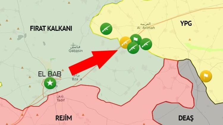 Rus ajansının iddiası: ÖSO ve YPG Menbiç'te çatışıyor