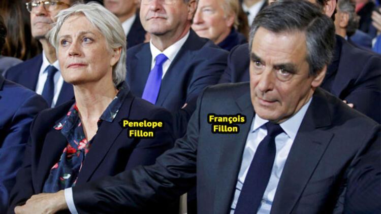 Polis Fillon çiftinin evinde arama yaptı
