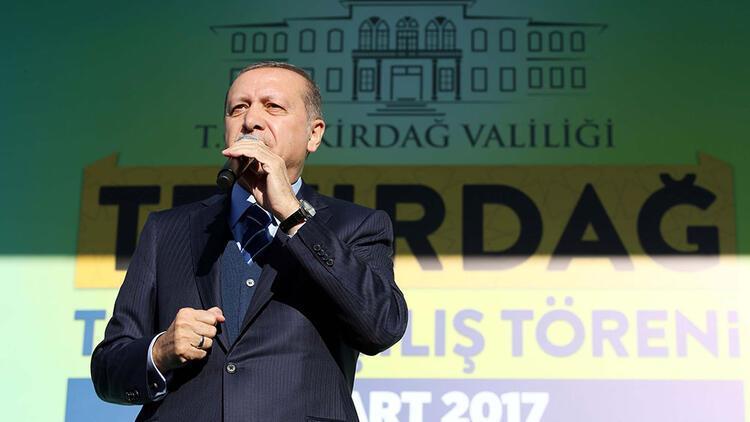 Cumhurbaşkanı Erdoğan: Gençlerimizin önünü açacağız