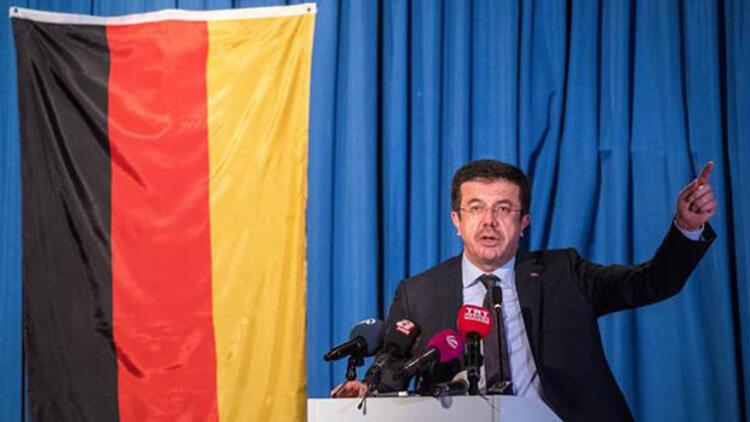 Ekonomi Bakanı Zeybekci, Almanya'da konuştu
