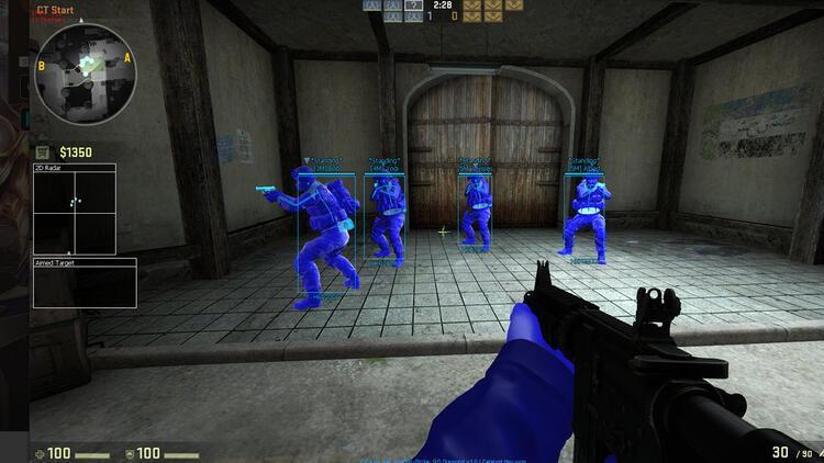 Counter Strike'ta hile yapan yandı!