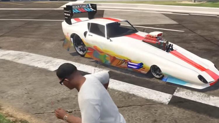 GTA 5te dünyanın en hızlı arabası o