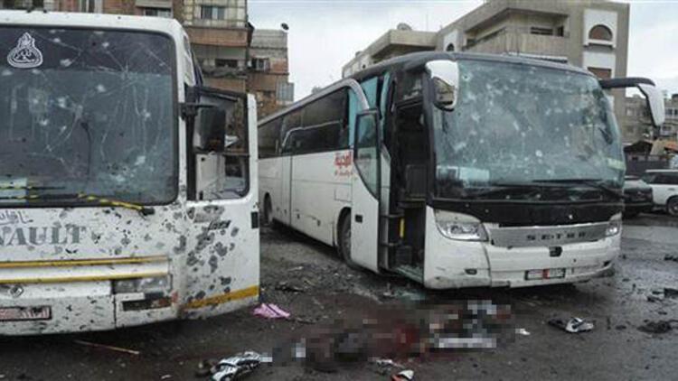 Son dakika: Şam'da çifte patlama
