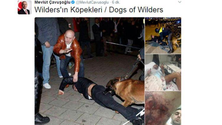 Bakan Hollanda'daki o fotoğrafları paylaştı