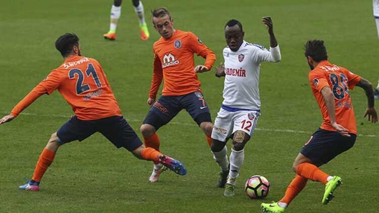 Medipol Başakşehir 3-3 Karabükspor
