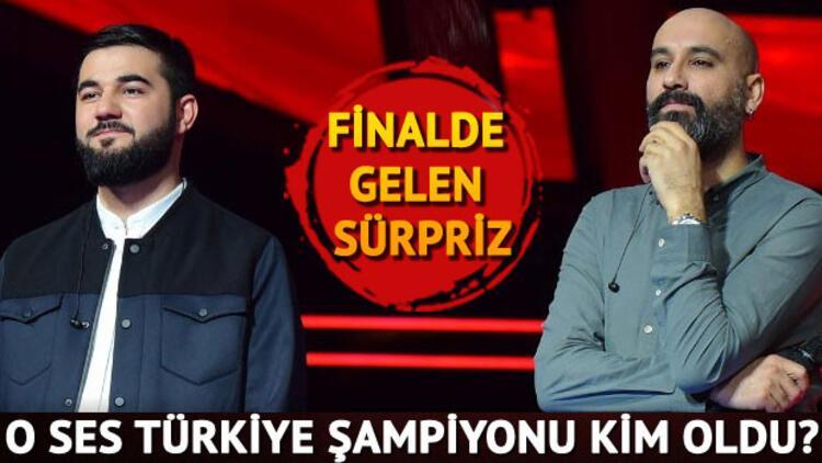 O Ses Türkiye 2017 şampiyonu kim oldu? O Ses Türkiye'yi kazanan isim