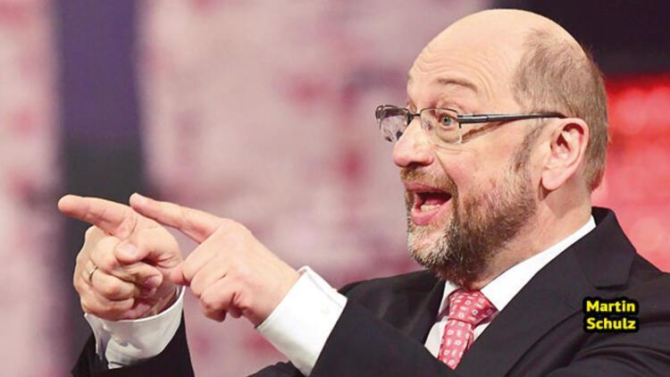 Merkel'e zorlu rakip: 'Würselenli Schulz'