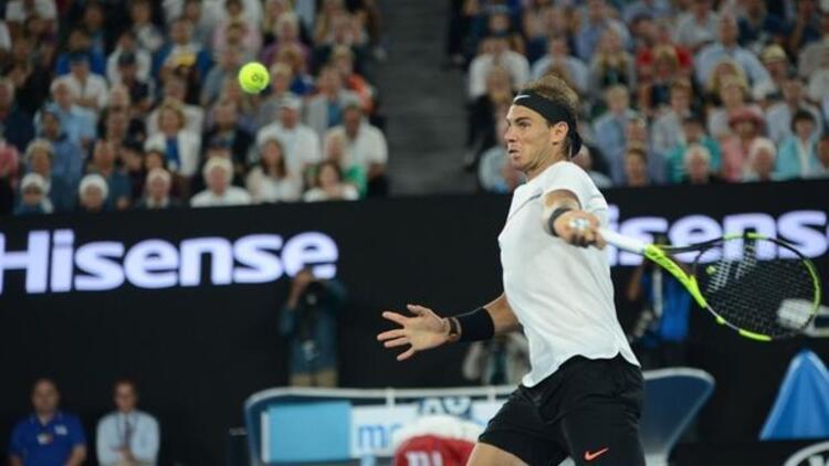 Nadal bininci maçına çıkacak