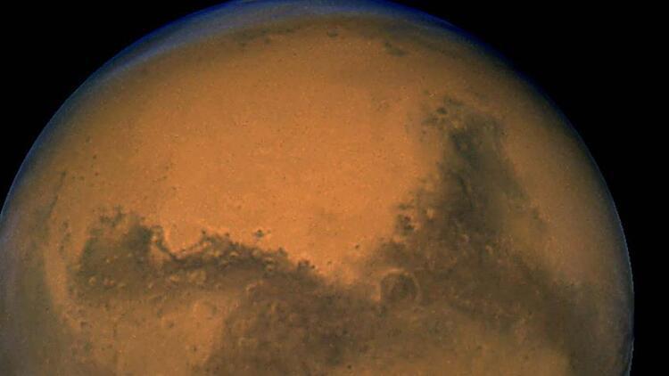 Mars'ta dünyayı şaşkına çeviren görüntü