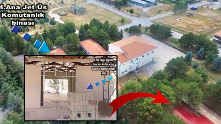 İhanet üssünde Gülen'e ev