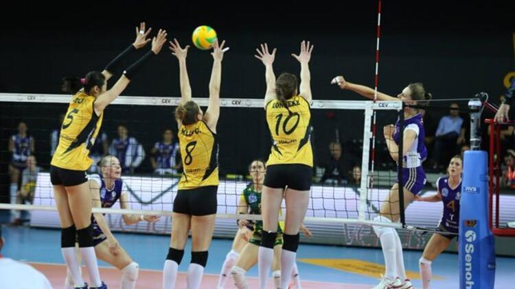 VakıfBank Dörtlü Final'e yükseldi