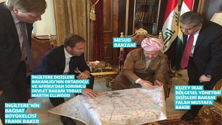Çok tartışılacak fotoğraf: Harita başında...