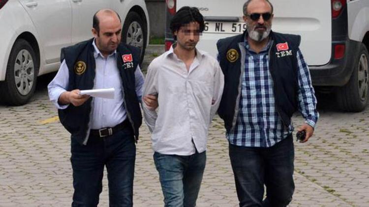 O tişörtle sandığa gidince tutuklandı