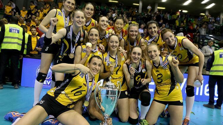 VakıfBank Avrupa şampiyonu!