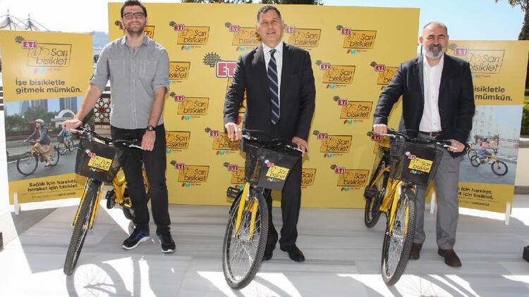 Sağlık için hareket, hareket için Sarı Bisiklet!
