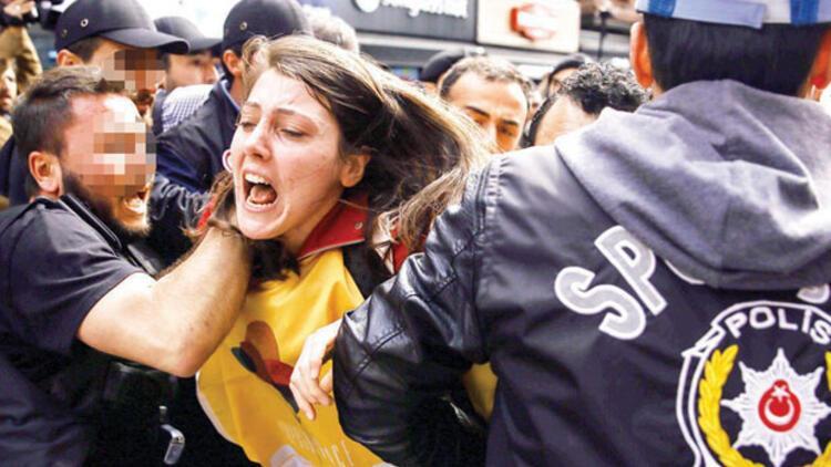 Taksim'e giremediler... 165 gözaltı