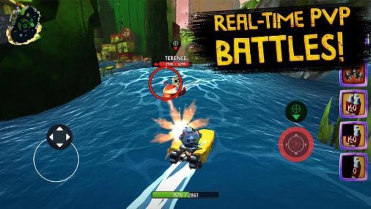 Rovio yeni oyunu Battle Bayi tanıttı