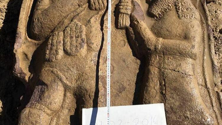 Ereğli'deki 2 bin 700 yıllık kayıp stel bulundu