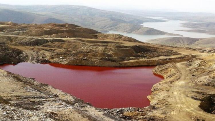 'Kızıl Gölet kansere neden olabilir'